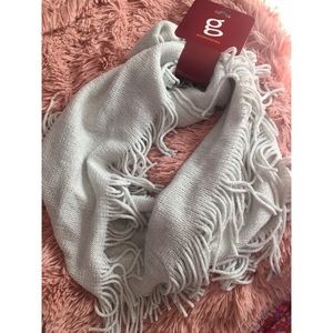 Silver glitter infinity scarf ✨brand new
